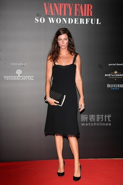 Anna MOUGLALIS wore CHANEL at the Vanity Fair party during the 74th Venice International Film Festival - August, 31st