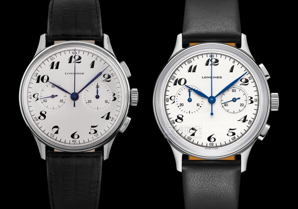 Longines-Heritage-Classic-Chronograph-1946-and-the-original