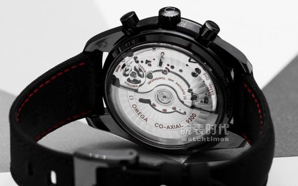 """Most want to start the watch, Omega """"The Dark Side"""" Speedmaster"""