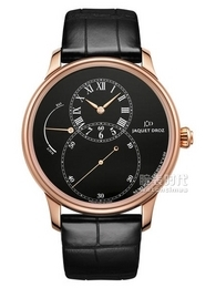 雅克德罗Grande Seconde Power Reserve Black Enamel款J027033202皇冠国际注册送48