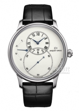 雅克德羅 Grande Seconde Power Reserve Ivory Enamel款