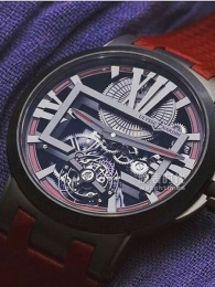 雅典Executive系列Skeleton Tourbillon