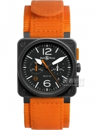 柏莱士AVIATION系列BR 03-94 CARBON ORANGE