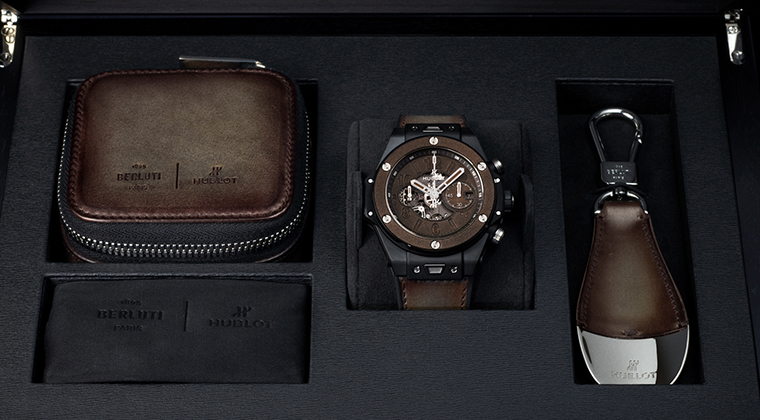 HUBLOT宇舶表 BIG BANG UNICO BERLUTI冷棕色腕表